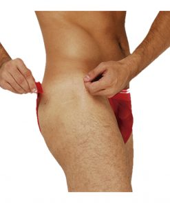 Cueca Velcro transparente sex man