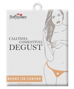 Calcinha Comestível Degust Morango com Champanhe