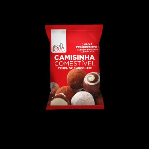 Camisinhas Comestíveis Trufa de Chocolate