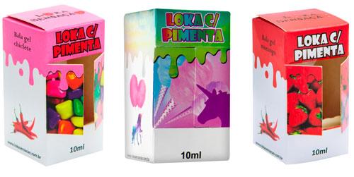 Loka com Pimenta Gel Coméstivel Loka Sensação