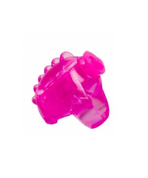 Dedeira com vibrador Jelly