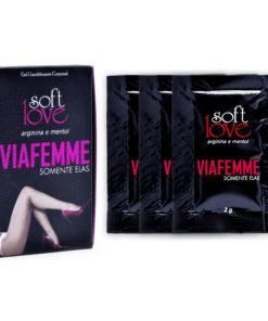 Via Femme Sachê - Excitante Feminino 6g Soft Love