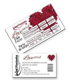 Raspadinha Love Card 5 unidades - La Pimienta